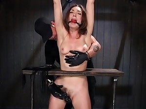 Seductive Lily Labeau is screwing in BDSM porn