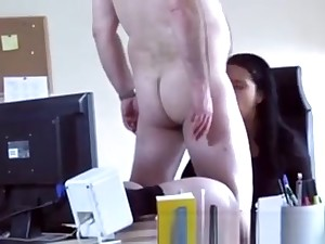 Chubby Amateur Teen Blowjob The System-administrator Came Fo