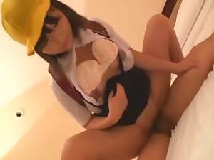 Exotic Japanese whore in Horny JAV video simply