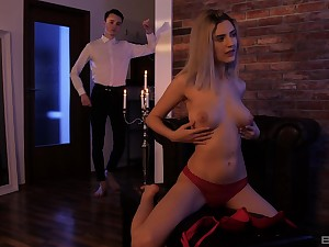 Deep sex in the result of the night with his acquiesce stepsister