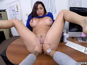 Cramped MILF wants more of lose concentration dick into her wet holes