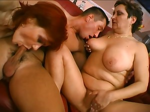 Torrid mature whores get their wet pussies crushed with an increment of nailed