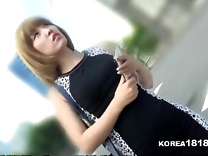 KOREA1818.COM - Short Haired Korean Girl