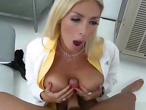 Snazzy breasty Italian Evita Pozzi let the dude cum on her face