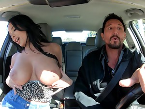 Seductive MILF whore Anissa Kate wants cum check b determine giving a titjob