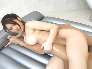 Moka Asian parcel out is fucked hard in the bathroom