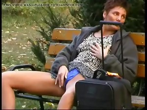 Lola Solana - Public Self-Gratification about Budapest