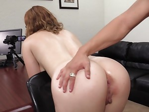 Imprecise doggy fuck and cumshot be advisable for Kaitlyn bent over the table
