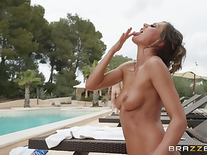 outside carnal knowledge and a blowjob are not conceivably of sizzling and oiled Tina Kay