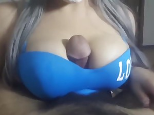 4K Arabian HALLOWEEN tit dear one - cumshot slow mo