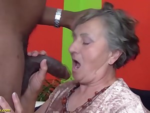 80 years ancient grandmother very first multiracial
