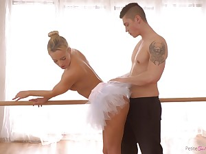 Czech ballerina with a big ass enjoying some nice fuck with say no to boyfriend