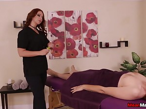 Dominant MILF wants this young cock fully about her ass